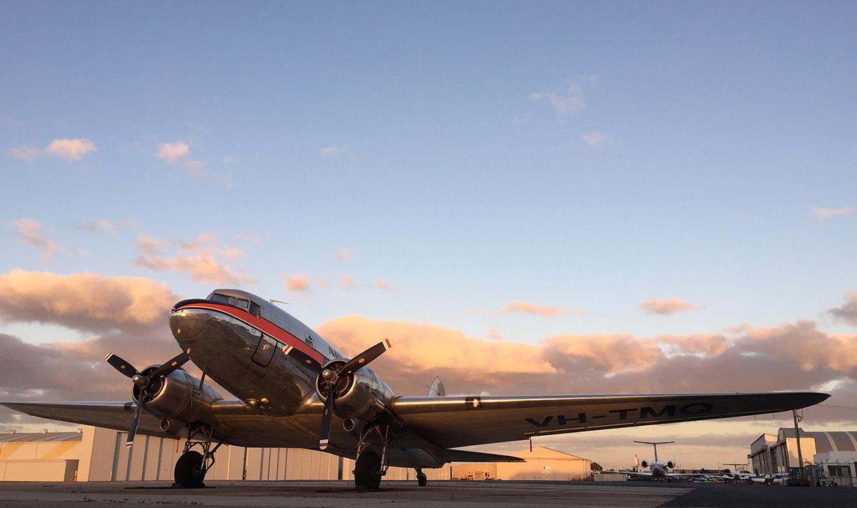 King Island DC3 scenic flight & buffet tour