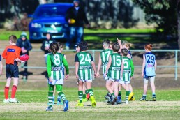 Essendon Fields sponsors the Airport West Junior Football Club