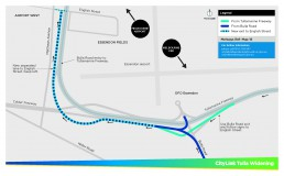 Exit Street Map Sketch