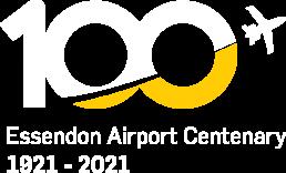 Essendon Airport Centenary Logo