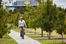 Essendon Fields Lifestyle - cycling