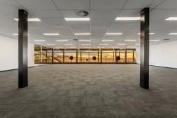 a very spacious indoor area