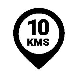 10 KMS Logo