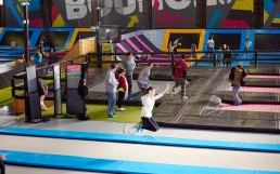 bounce gallery with people jumping