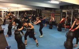 kickboxing training for women