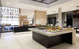 Hyatt Place dining and wine bar kitchen